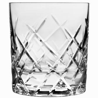 Klassisk whiskyglas i krystal